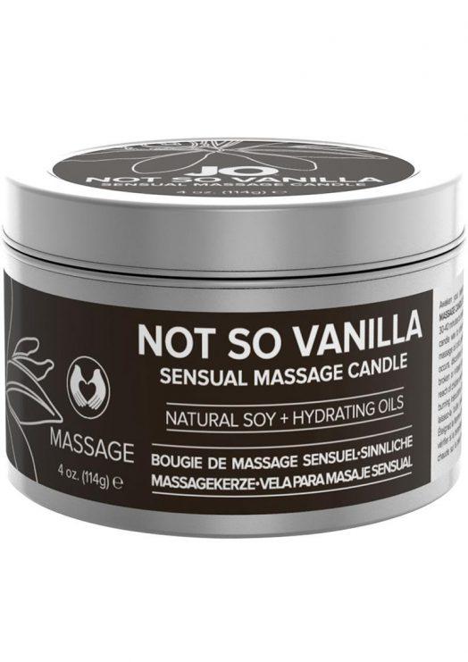 Jo Not So Vanilla Massage Candle 4oz