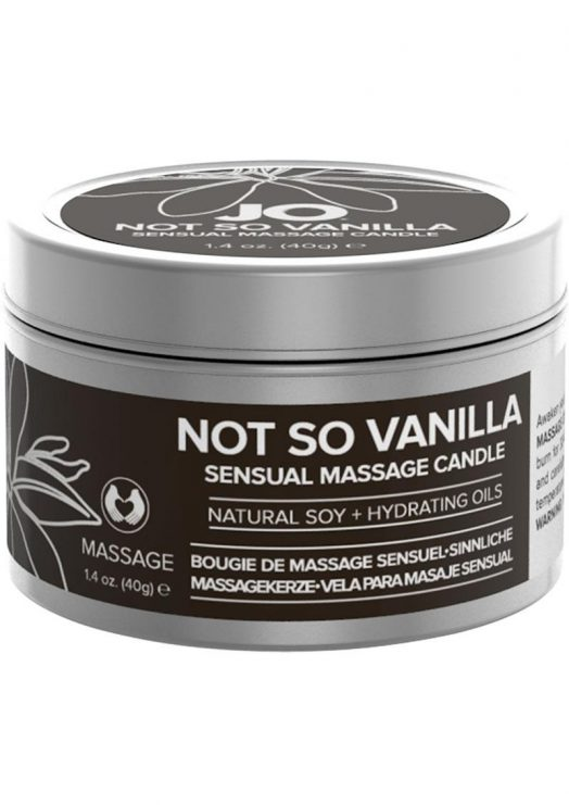 Jo Not So Vanilla Massage Candle 1 oz