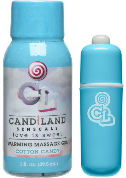 Candiland Sugar Buzz Massage Set Waterproof Bullet Cotten Candy