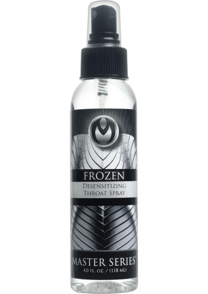 Master Series Frozen Desensitizing Throat Spray 4 Ounce