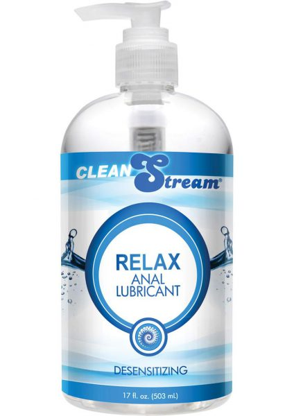 Clean Stream Relax Anal Lubricant Desensitizing 17 Ounce