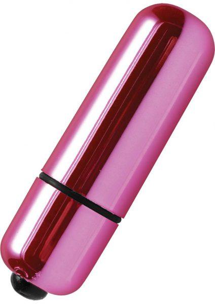 Trinity Vibes Shimmer Peanut Plus Bullet Waterproof Pink