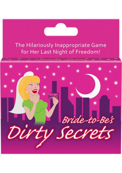 Bride To Be Dirty Secrets Card Game