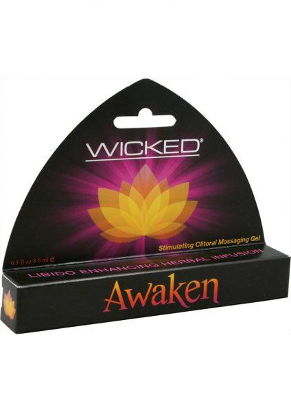 Wicked Awaken Stimulating Clitoral Gel 0.3 Oz