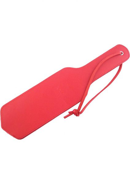 Rouge Leather Paddle Red