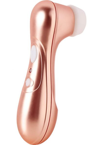 Satisfyer Pro 2 Next Generation Rechargeable Silicone Clitoral Stimulator Waterproof Bronze 6.5 Inch