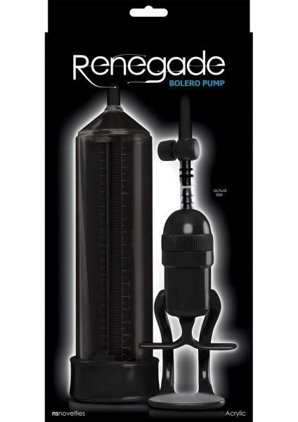 Renegade Bolero Pump Acrylic Black