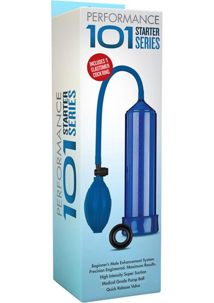 Performance 101 Starter Series Penis Pump Blue