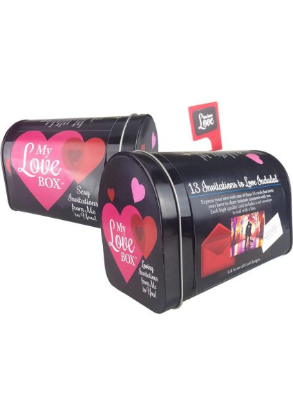 My Love Mailbox Sexy Invitations Couples Game