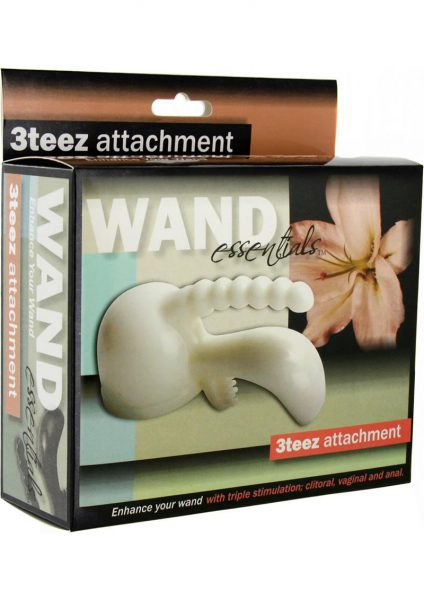 Wand Essentials 3teez Wand Attachment White