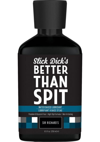 Slick Dick's Much Better Than Spit Water Based Lubricant 8.5 Ounce