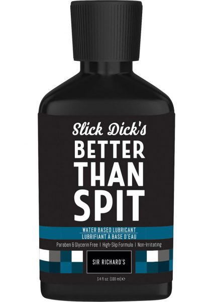 Slick Dick's Much Better Than Spit Water Based Lubricant 3.4 Ounce