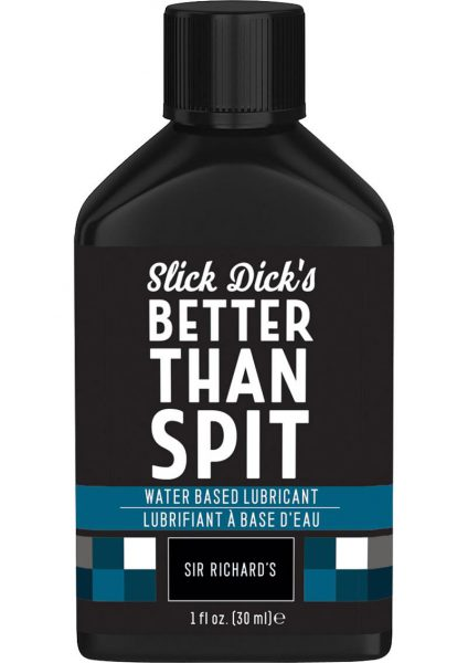Slick Dick's Much Better Than Spit Water Based Lubricant 1 Ounce