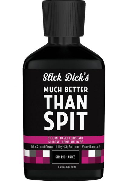 Slick Dick's Much Better Than Spit Silicone Based Lubricant 8.5 Ounce