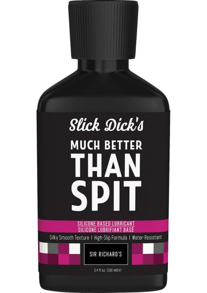 Slick Dick's Much Better Than Spit Silicone Based Lubricant 3.4 Ounce