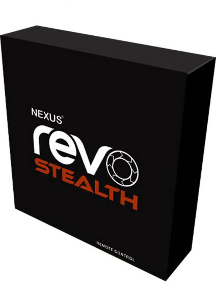 Nexus Revo Stealth Recharged Silicone Rotating Prostate Massager Black