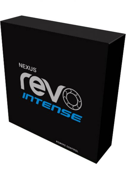 Nexus Revo Intense Rechargeable Silicone Rotating Prostate Massager Black