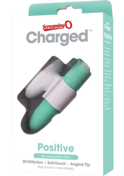 Charged Positive Rechargeable Vibe Waterproof Kiwi