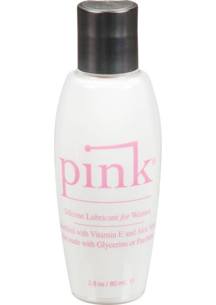Pink Silicone Lubricant For Women 2.8 Ounce