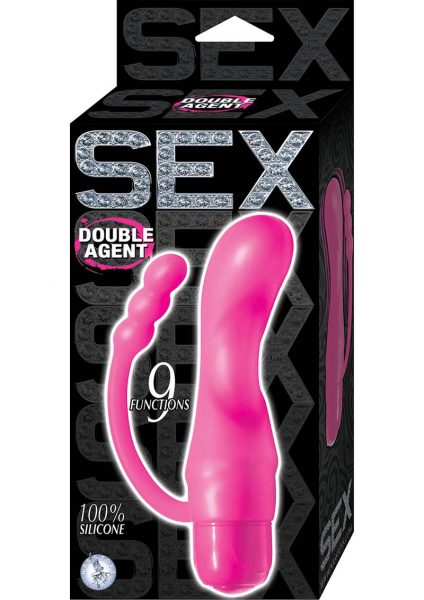 Sex Double Agent Silicone Vibe Pink