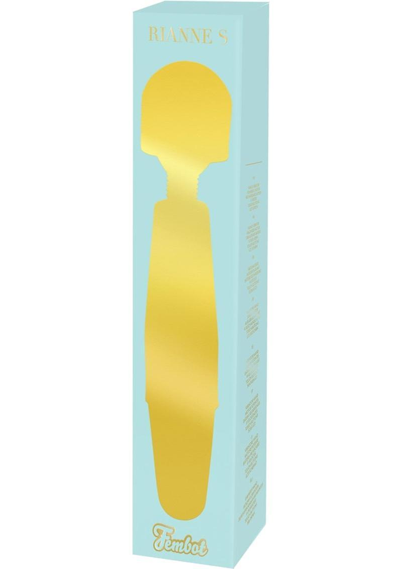 Rianne S Fembot USB Rechargeable Massager Mint Green