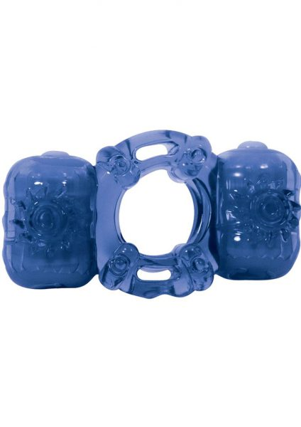 Partners Pleasure Ring – Blue