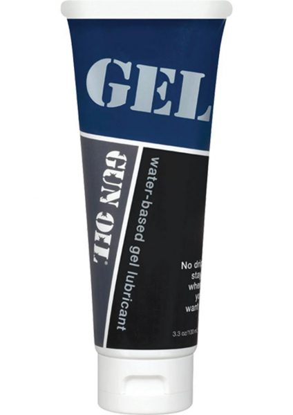 Gun Oil H2o Gel 3.3oz Tube