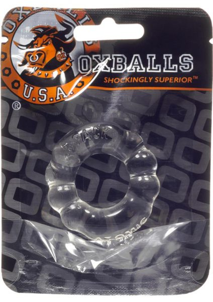 Atomic Jock 6 Pack Cockring Clear