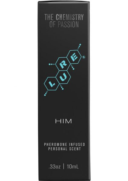Lure For Him Pheromone Infused Personal Scent .33 Ounce
