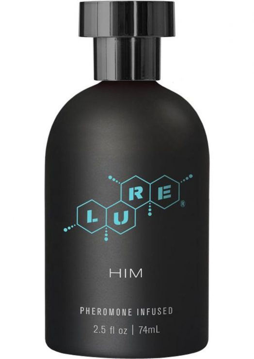 Lure For Him Pheromone Infused Personal Scent 2.5 Ounce