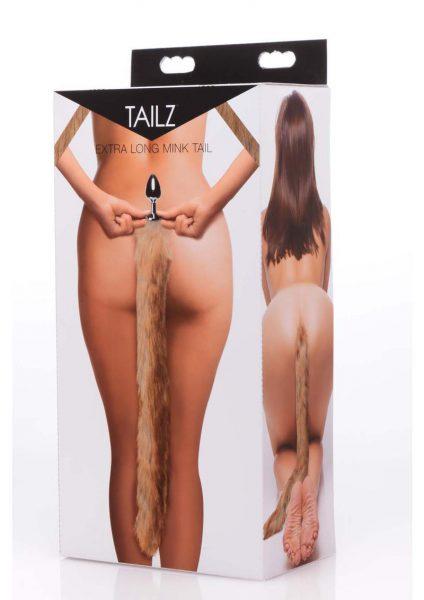 Tailz Mink Tail - Brown