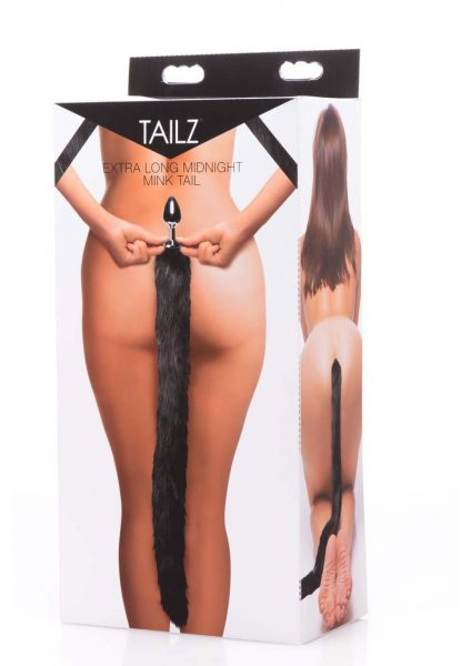 Tailz Mink Tail - Black