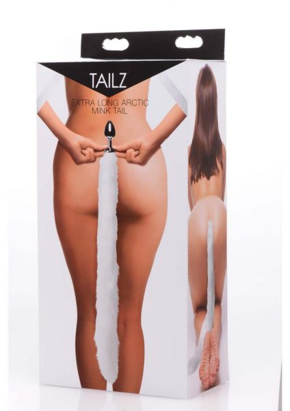 Tailz Mink Tail - White