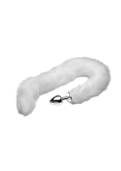 Tailz Mink Tail – White