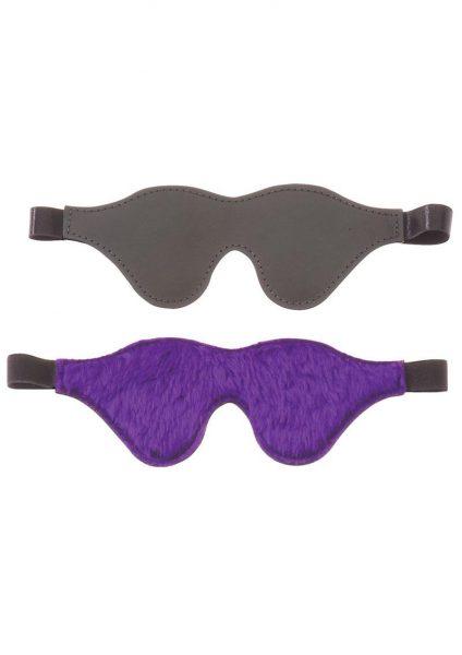 Purple Fur Line Blindfold – Classic Cut