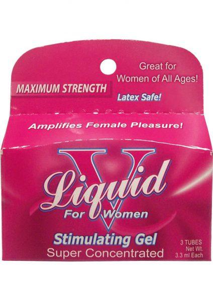 Liquid V For Women – 3pk Tubes