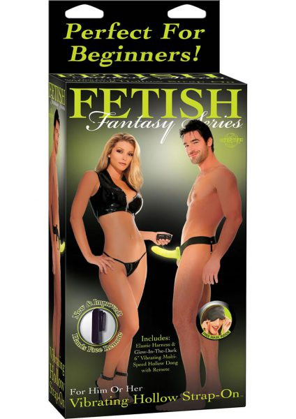 Fetish Fantasy Vibrating Hollow Strap On