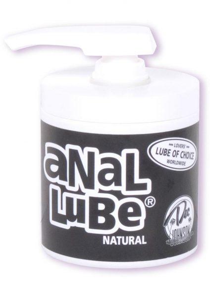 Anal Lube Natural 6 Oz Pump