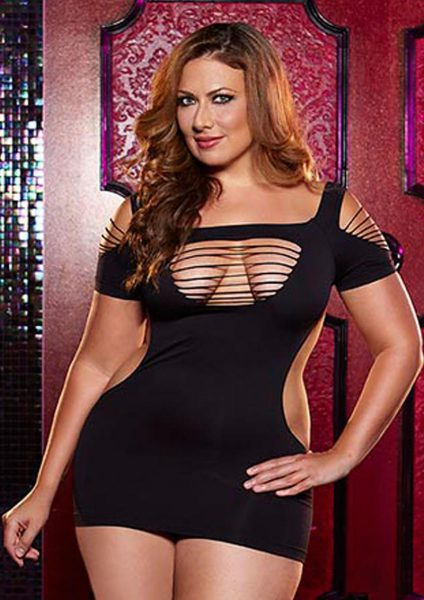 Twerk It Mini Dress – Black – X