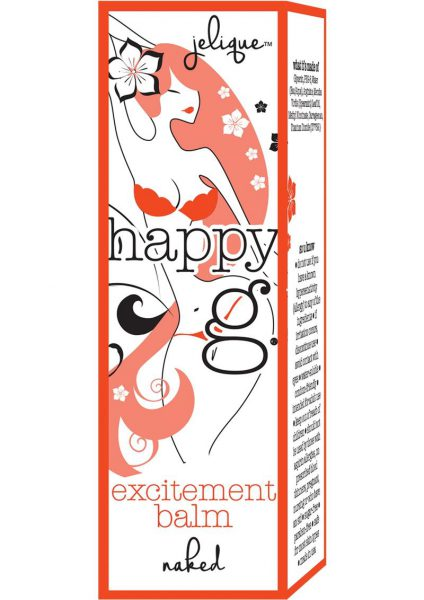 Jelique Happy G Excitement Balm .5 Ounces