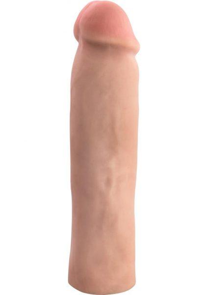 Performance Magnum Xtender Penis Sleeve Waterproof Silicone Flesh