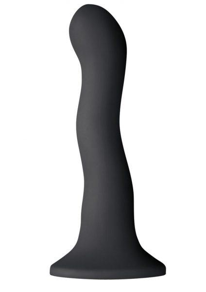 Shi Shi Ripple 6 Inch Dildo Black