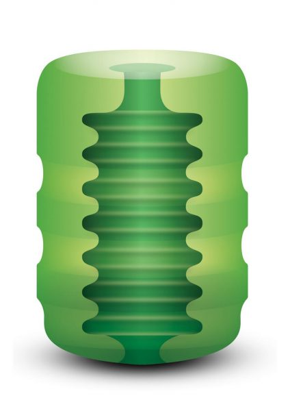 Zolo Original Pocket Stroker Ribbed Texture Green