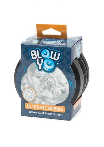 Blow Yo Ultimate Bubble Intense Oral Super Stroker Clear