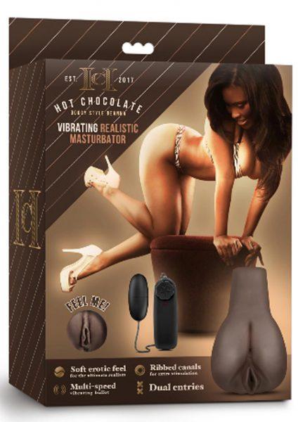 Hot Chocolate Doggy Style Deanna Vibrating Realistic Masturbator