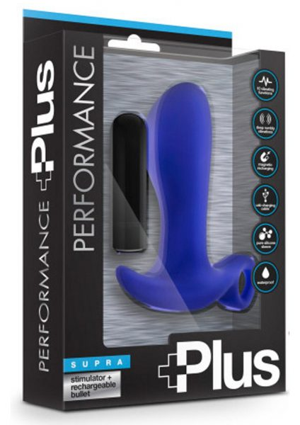 Performance Plus Supra Indigo Prostate Stimulator Multi Function