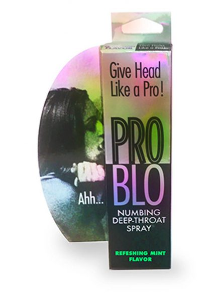 Pro Blow Numbing Deep-Throat Spray Refreshing Mint 1 Ounce