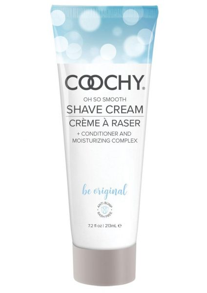 Coochy Oh So Smooth Shave Cream Be Original 7.2 Ounce