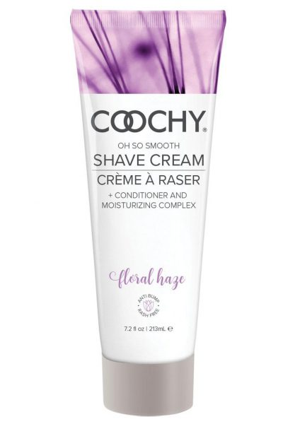 Coochy Oh So Smooth Shave Cream Floral Haze 7.2 Ounce