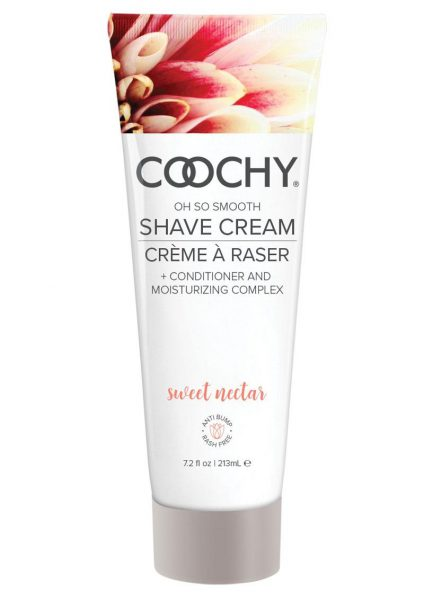 Coochy Oh So Smooth Shave Cream Sweet Nectar 7.2 Ounce